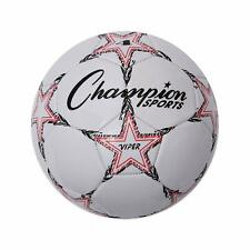Champion Sports Viper Indoor/Outdoor Size 4 Soccer Ball, 4-Ply Soft Touch