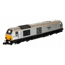 Dapol 2D-010-011D N Gauge DB Silver Class 67 No 67029 Royal Diamond DCC FITTED
