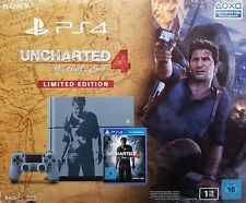 Sony Playstation 4 Console 1TB CUH-1216B GRIGIO-BLU + Uncharted 4 -