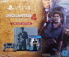Sony Playstation 4 Console 1TB CUH-1216B GRIGIO-BLU + Uncharted 4 -