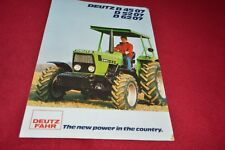 Deutz Fahr D 45 07 D 52 07 D 62 07 Tractor Dealers Brochure YABE14