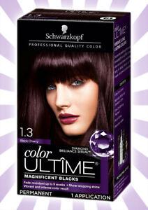 Schwarzkopf Ultimate Color Permanent Hair Color 1.3 Black Cherry