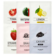 SKINFOOD Beauty in a Food Facial Mask Sheet Moisture Face Skin Care Pack 18ml