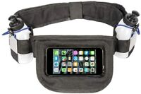 NEW Hydration running belt with 2 water bottles, Running water belt Touchscreen