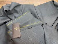 Ermenegildo Zegna suiting Fabric windowpane Traveller wool & silk 3.5 m 320 $