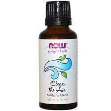 Clear the Air Oil Blend, 1 oz - NOW Foods Essential Oils