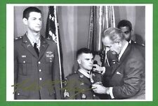 Robert Foley Viet. Congressional Medal of Honor CMOH Signed 4x6 Photo E16879