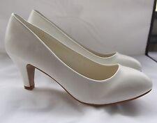 Zapatos de Novia Cuero Óptica con un Pequeño Tacón Sencillo - Noble 878-3.B7735