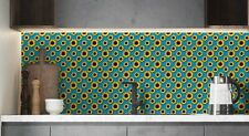 Sunflower Pattern Tile Stickers for 150mm x 150mm / 6x6 In 4x4 v8