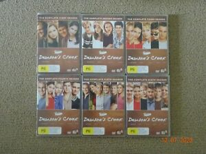 DAWSON'S CREEK DVDs - COMPLETE SEASONS 1-6