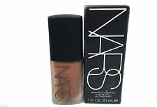 Nars Sheer Matte Foundation 1 fl oz 30mL TORTUGA Dark4 6095 New Full Size Box