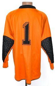 ADIDAS VINTAGE 1996/1997 GOALKEEPER FOOTBALL SHIRT #1 JENS LEHMANN EDITION L