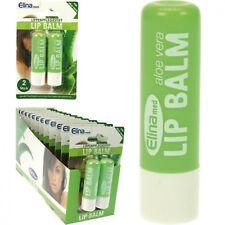 Elina Med  Aloe Vera Lip  Balm x2 Twin Pack OS13