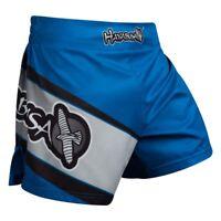 Hayabusa Kickboxing Shorts Muay Thai Boxing Mens Black Red Blue