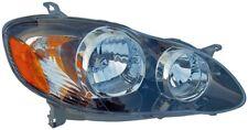 Headlight Assembly Right Dorman 1591168 fits 05-08 Toyota Corolla