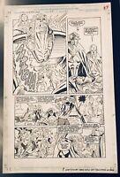 Warlock & Infinity Watch #27 Pg 20 Original Art Marvel 1994 Grindberg & Almond