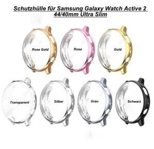 Schutzhülle Full Cover Case für Samsung Galaxy Watch Active 2 44/40mm Ultra-Slim
