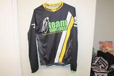 Men Cycling Jersey Team Share the Road Long Sleeves T-Shirt Sz 3XL