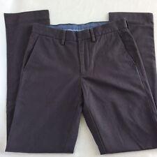 J.Crew Mens Bowery Slim Chino Pants - Charcoal Grey - 28/32 - 21606 SHIPS FREE