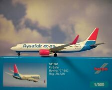 Herpa Wings 1:500 Boeing 737-800 flysafair zs-sjs 531085 modellairport500