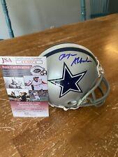 Roger Staubach signed mini helmet JSA Authenticated!!  W/O Original Box.