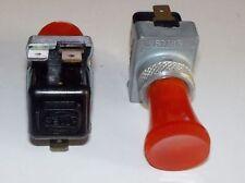 PORSCHE 356 - 550 - 911 - 912 - 914/ INTERRUTTORE ROSSO/ DASHBOARD RED SWITCH