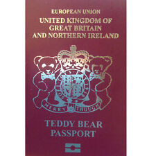 Merrythought Teddy Bear's Passport - perfect for bears that like to travel!