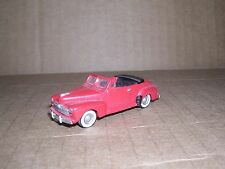 "ALLOY FORMS #2030  1948 Ford Convertible ""Red"" H.O.Gauge"