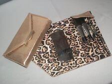 Victorias Secret Supermodel Essentials Leopard old Sparkle Makeup Brush Kit Set