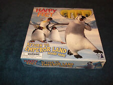 HAPPY FEET-RETURN TO EMPEROR LAND CHILDRENS BOARD GAME BY SABABA TOYS 2006