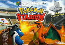 POKEMON STADIUM W-GAMEBOY ADAPTOR  *VERY RARE* NINTENDO 64 GAME *NEW* AUS EXPRES