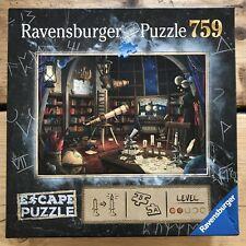 Ravensburger escape game observatory jigsaw puzzle 759 - Excellent condition