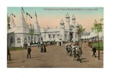 Franco-British Exhibition, London, 1908 - Colonial Avenue - Postcard