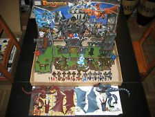 Mega Bloks Dragons 9890 Warriors Fortress Jouet Brique Chevalier 100% Complet