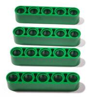 LEGO Technik - 4 x Liftarm dick 1x5 grün / 32316 NEUWARE