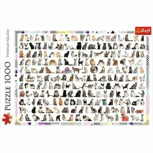 Trefl 208 Cats 1000pc Puzzle (New)