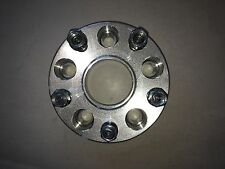 """CADILLAC CTS-V SPARE TIRE WHEEL SPACER 5 X 120mm X 1-1/2""""  14mm STUDS SHIPS FAST"""
