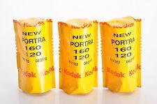 3 X KODAK PORTRA 160 120 / Pellicola negativo a colori