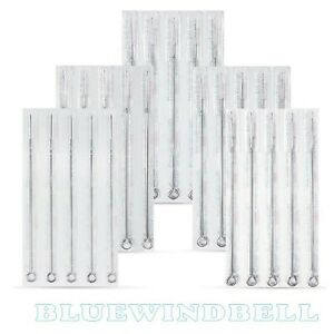 15,30,50,100 pcs New Disposable Sterile Tattoo Needles U-Pick RL,RS,F,M1,M2,RM