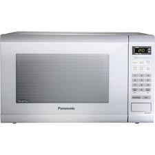 Panasonic 1.2 Cubic Foot 1200 Watt Family Size Microwave Oven, White NN-SN651WA