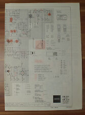 Grundig cb200 cb210 HiFi estéreo conmutación imagen esquema eléctrico