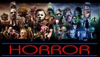 HORROR / SCARY / HALLOWEEN Movies - Many options to choose from - DVD or Bluray