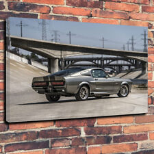 """Eleanor Shelby GT500 Mustang Printed Canvas A1.30""""x20"""" 30mm Frame 60 Seconds...."""
