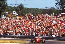 "Gerhard Berger - Colour 10""x 8"" Signed 'Ferrari F1' Photo - UACC RD223"