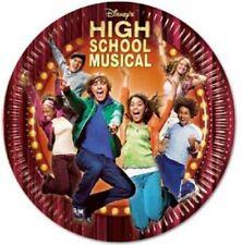 Piatti Dessert Carta per Festa High School Musical Disney Party 50Pz nuovo party