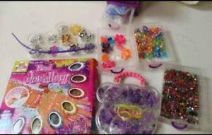 Children's Jewellery Bead Making Kit, Beads, Charms Bundle