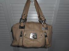 B. MAKOWSKY Tan Leather satchel - EUC