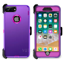 Heavy Duty Defender Shockproof Case Cover+Belt Clip Holster for iPhone 6s 7 Plus