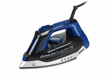 Beldray 3000W Max Steam Pro Black and Blue Iron Glider with Vertical Steaming
