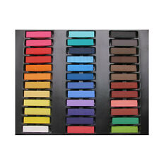 TRUYOO 36 Pack Coloured Non-toxic Temporary Hair Chalk Dye Set Salon Pastel Fun